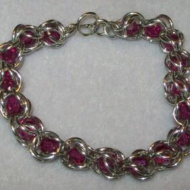 Bead Capture Bracelet-Swarovski Crystals