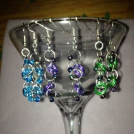 Fun with Rings and Beads Earrings