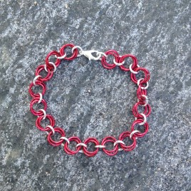 Simple Chain Mail Bracelet