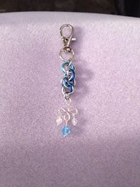 December Birthday with Swarovski Keychain