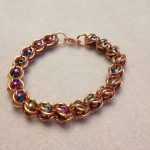 Coloured Magnets and Copper Bracelet