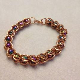 Coloured Magnets and Copper Bracelet