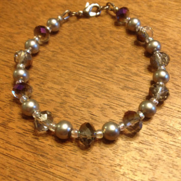 Purple Shine Bracelet