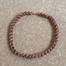 Coloured Magnets and Copper Necklace