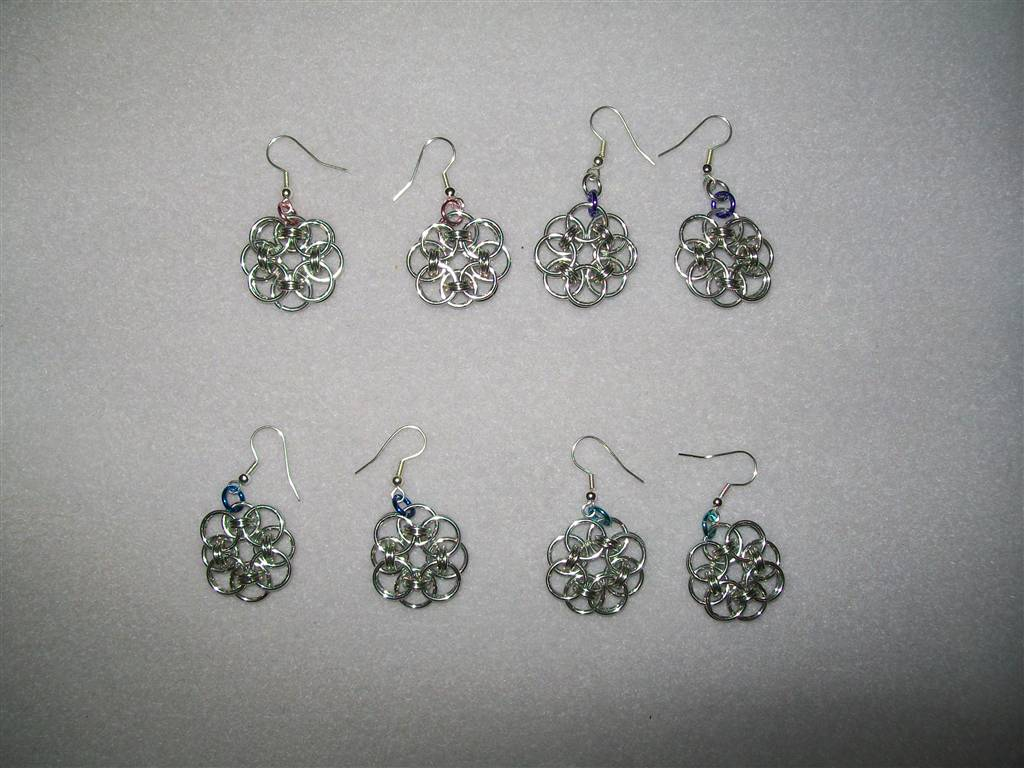 Celtic Flower Earrings