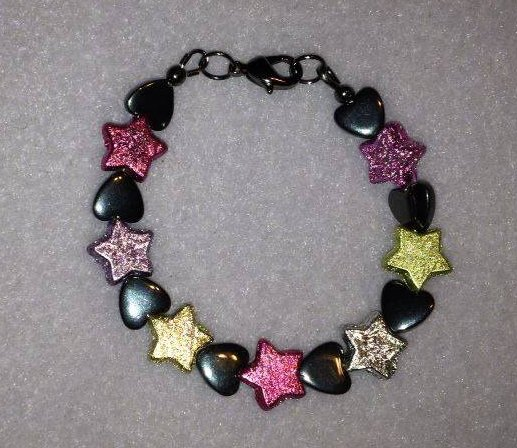 Stars and Hearts Bracelet (Kids)