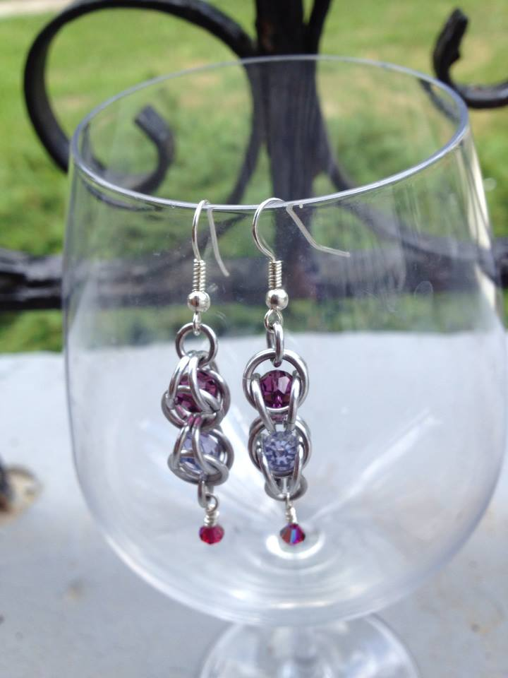 Bead Capture Earrings
