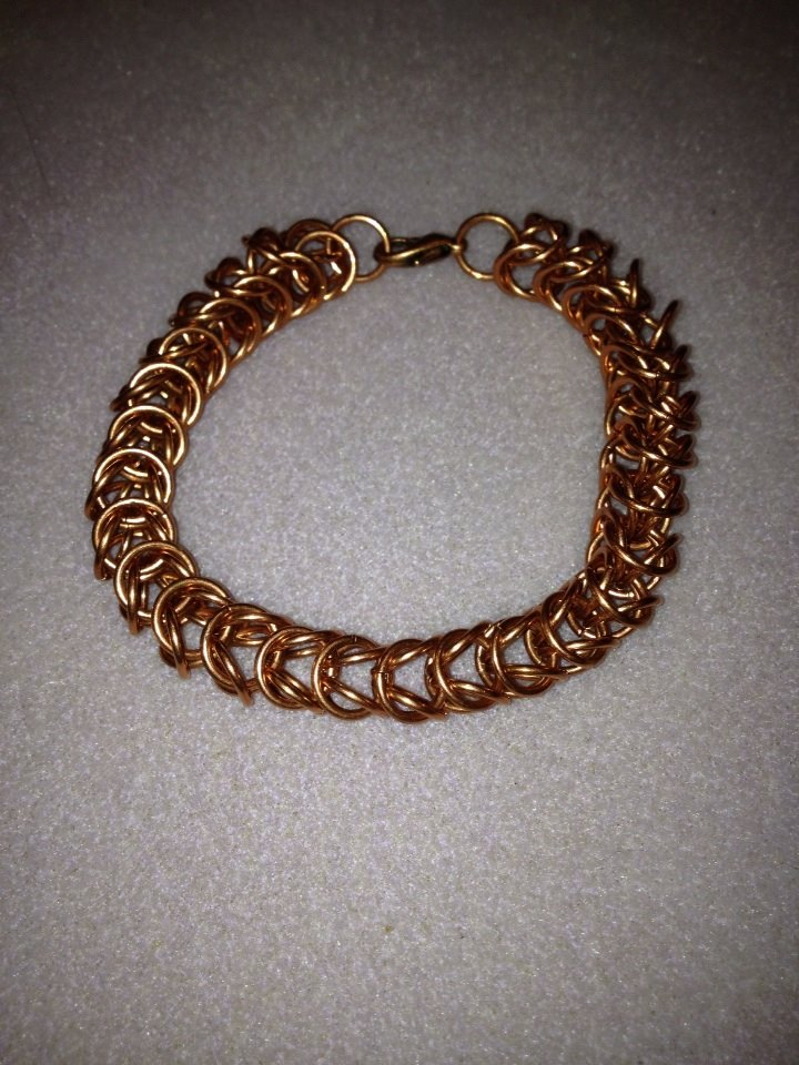 Box Chain Bracelet Copper