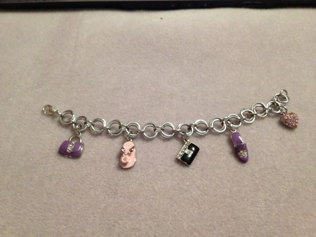 Girlie Charms Bracelet