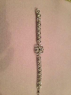 Helm Chain and Celtic Flower Bracelet