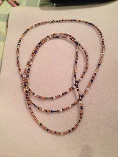 63 inch random necklace