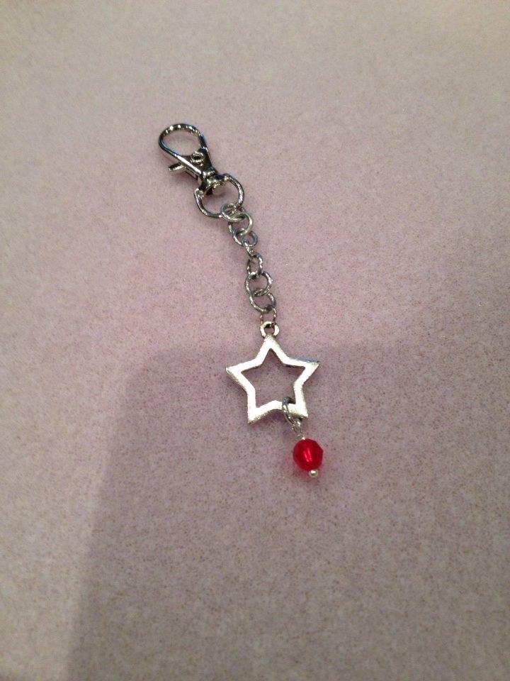 Star Crystal Keychain