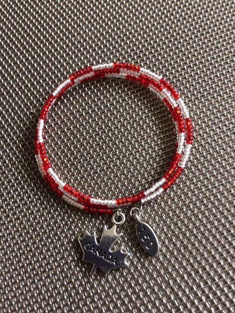 Canada 150 Wrap Bracelet